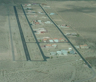 the area of bullhead city airport